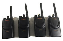 Lot Of 4 Motorola Bpr40 Mag One Vhf Two Way Analog Radios Batteries Included