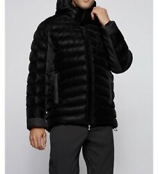 Hugo Boss Relaxed-fit Padded Jacket With 3d Quilted Pattern Msrp 798