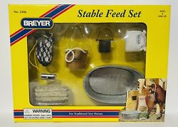 NIB Breyer Stable Feed Accessory Set Traditional 1:9 Scale #2486
