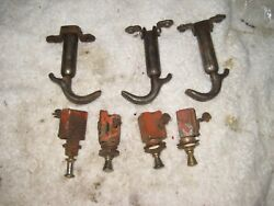 Case Tractor Hood Clamps And Dash Switches