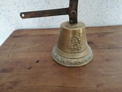 Very Pretty Antique Bell Of Chapelle Manor Castle