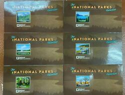 World Class Collections National Parks 25 1 Oz Silver Ingots Bars - 3.5k Lim Ed