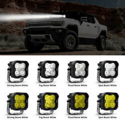 Lasfit 3inch Led Pod Light Off Road For Hummer H1 H2 H3 H3t 18w/36w White/yellow