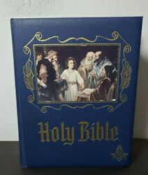 1964 Heirloom Family Bible Masonic Edition Red Letters Kjv - Old/new Testaments