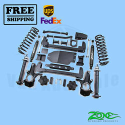 Suspension Lift Kit Zone 6.5 Front And Rear For Gmc Yukon 4wd Gas 2007-2014