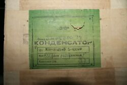 Kp1-3 5-100pf 25kv 75a 30mhz Vacuum Variable Capacitor Nos In Box Ussr Lot 1pc.