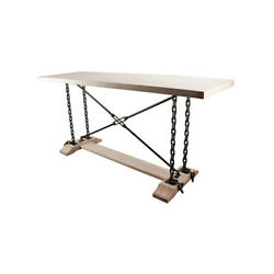 Osborne Wood Products, Inc. 50030hm 65 X 20 X 30 1/2 Industrial Chain Table In