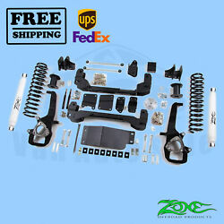 Suspension Lift Kit Zone 6 Front And Rear For Dodge Ram 1500 4wd 2009-2012