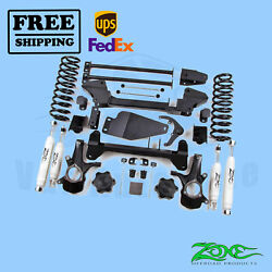 Suspension Lift Kit Zone 6 Front And Rear For Gm Tah/yuk/sub 1999-2006