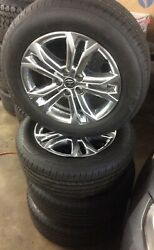 2021 Toyota Sienna Xse Awd 18x7.5 Oem Alloy Wheels And Tires-take Offs
