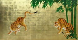 Lacquer Painting Kano Search Yuand039s Masterpieces Bamboo Tiger Diagram