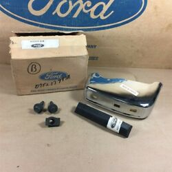 Nos Oem Ford 77 78 Pinto D7fz-17997-a Lh Front Bumper Guard Kit