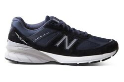 New Balance Mens Blue White Wide 2e Trainers Runners Walking Shoes Size M990nv5