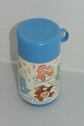Vintage 1986 Aladdin Care Bears Lunch Box Thermos Blue American Greetings 80s