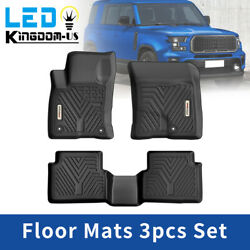 All Weather Floor Mats For 2021 2022 Ford Bronco Sport Front Rear Tpe Liners