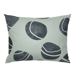 Pebble Stone Rock Nature River Beach Ocean Pillow Sham By Roostery