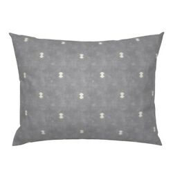 Minimal Bohemian And Cream Boho Geometric Earth Tones Pillow Sham by Roostery