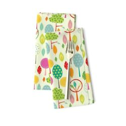 Nursery Trees Gender Neutral Tree Cotton Dinner Napkins by Roostery Set of 2