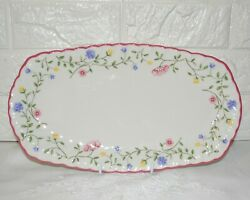 Johnson Brothers Summer Chintz Large Sandwich Tray - 32.5cm - Made In England