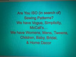 Iso Vogue, Simplicity, Mccalls Sewing Patterns Looking For A Specific Pattern