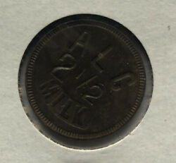 Us Trade Token Good For 2 1/2 Cents Milk- Alc