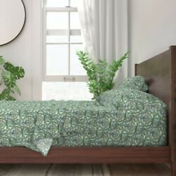 Marrakesh Moroccan Tile Mosaic Look 100 Cotton Sateen Sheet Set By Roostery