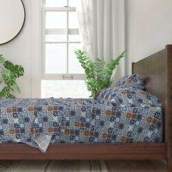 Spanish Tile Moroccan Mexican Italian 100 Cotton Sateen Sheet Set By Roostery