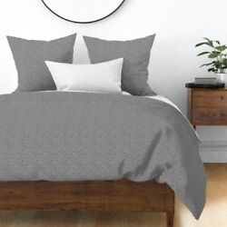 Petoskey Geology Mineral Science Stone Fossil Sateen Duvet Cover By Roostery