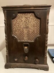 Vintage Ge General Electric Tombstone Radio S-22 For Parts