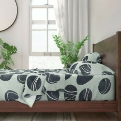 Pebble Stone Rock Nature River Beach 100 Cotton Sateen Sheet Set By Roostery