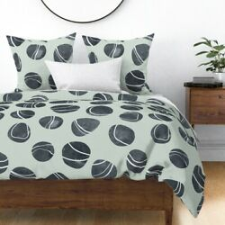 Pebble Stone Rock Nature River Beach Ocean Sateen Duvet Cover By Roostery