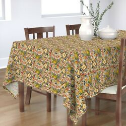 Tablecloth Mexican Cultural Herita Order Chaos Playful Heritage Cotton Sateen