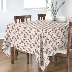 Tablecloth Pinata Mexican Party Horse Birthday Kids Geometric Cotton Sateen