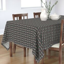Tablecloth Brittany Spaniel Spaniel Dog Dogs Brittany Spaniels Dog Cotton Sateen