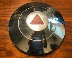 1950-54 Hudson Wasp Pacemaker 8 1/2 Chrome Dog Dish Hubcap