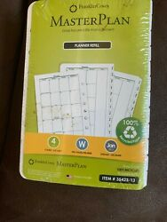 New Sealed 2013 Franklin Covey Planner Refill 35423-13 Size 4 Two Pages Per Week