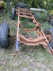 1955 1956 1957 1958 1959 Chevy Chevrolet Gmc Truck Shortbed Frame And Suspension