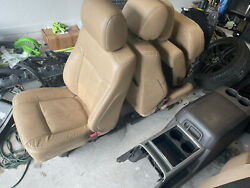 2011-2016 F250 Lariat Interior W/center Console Heated/cooled Seats