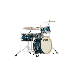 Tama Superstar Classic Neo-mod 3-pc Lacquer Drum Shell Kit Mod Blue Duco , New