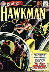 Brave And The Bold 36 And 44 Hawkman Early Appearance And 1st App Shadow-thief
