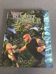 Mage Secrets Of The Ruined Temple Mage The Awakening Gaming Book White Wolf