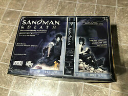 Sandman And Death Dc Direct 20th Anniversary Bookends 1st Edition 845/1000 Rare