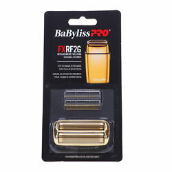 Babylisspro Replacement Foil And Cutter For Fxfs2g Gold Color