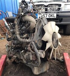 Ford Ranger / Mazda B2500 Complete 103k Engine With All Peripherals. 2.5d Wl21
