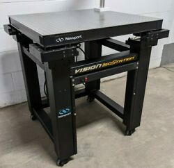 Newport Vision Isostation 30in X 30in Optical Vibration Isolation Table Workstat