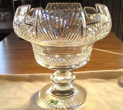 Vintage Waterford Crystal Centerpiece Bowl Master Cutter Collection 10org Owner