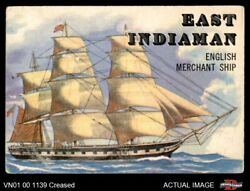 1955 Topps Rails And Sails 146 East Indiaman 3 - Vg