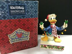 Walt Disney Traditions Jim Shore Unplugged For The Holidays Xmas Donald Duck