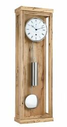 Modern Clock With 31 Day Running Time From Hermle He 70996-t30761 New
