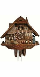 Cuckoo Clock Of The Year 2014 Black Forest House Sc 8tmt 3170/9 New